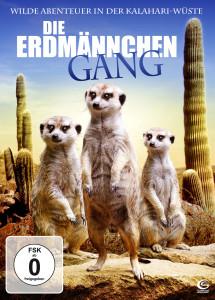 """Plakat von """"Die Erdmännchen Gang 3D - Wilde Abenteuer in der Kalahari-Wüste"""""""