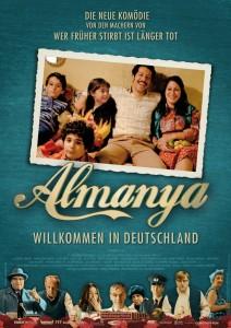 """Plakat von """"Almanya - Willkommen in Deutschland"""""""