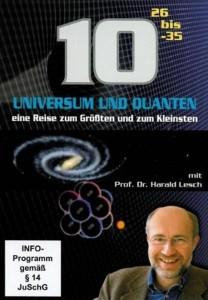"""Plakat von """"10 Hoch: Universum und Quanten - Eine Reise zum Größten und zum Kleinsten"""""""