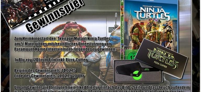 Gewinnspiel – Teenage Mutant Ninja Turtles