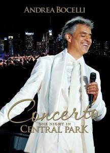 "Plakat von ""Andrea Bocelli - Concerto - One Night in Central Park"""