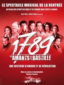 """Plakat von """"1789 : Les Amants de la Bastille"""""""