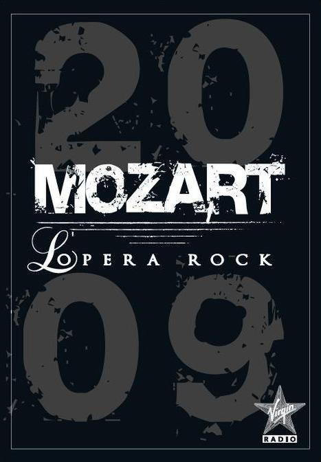 """Plakat von """"Mozart l'Opéra Rock"""""""